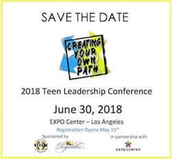 2018 Teen Leadership Conference